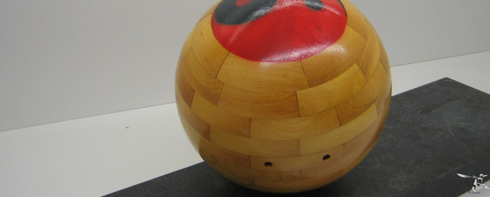Taiji & Qi Gong Ball - Wood (Refillable)