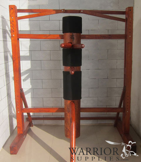 Free Standing Wooden Dummy with Frame